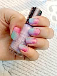 Rainbow Tie Dye Nails : Spray Paint Graffiti Nail Art with a Sponge