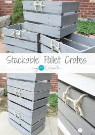 pallet crate furniture. Awesome Stackable Pallet Crates With Dog Crate Bench Furniture E
