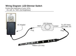 led dimmer rotary knob for dimming leds oznium rotary style led dimmer technical info