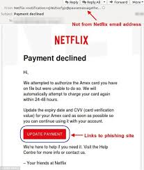 Customers Phishing Mail Netflix Daily Email Hit New Scam Online By drOq8X