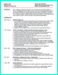 Http Www Resumetemplates2016 Com Choosing Perfect Programmer