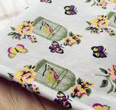 2018 Wholesale 100*155cm Natural Cotton Linen Fabric Quilting ... & 2018 Wholesale 100*155cm Natural Cotton Linen Fabric Quilting Patchwork  Dandelion Manual Diy Cloth Arts Supplies Woven Tissues Fabric From Geinne,  ... Adamdwight.com
