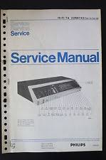 ta22 philips hi fi ta 22rh742 original service manual manual wiring diagram o55