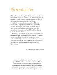 Formación cívica y ética 6to. Formacion Civica Y Etica Sexto Grado Primera Edicion 2020 Comision Nacional De Libros De Texto Gratuitos
