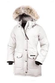 Trillium Parka Womens Canada Goose White clearance
