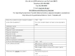 Security Guard Daily Activity Report Template Officer Sample
