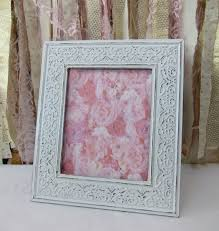 vintage white frame shabby chic distressed wedding frame baby nursery frames picture photo 8x10