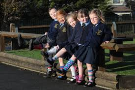 Pupils work their socks off at St Joseph's Primary | Warrington Guardian