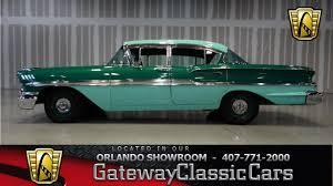 1958 Chevrolet Biscayne 348 CID V8 2-Speed Auto Gateway Classic ...