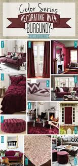 Color Series Decorating With Burgundy Bedroom Inspiration