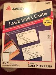 Avery Index Cards Itran