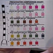 Tetra Test Strips Color Chart Tetra Easystrips 6 In 1 Aquarium Test Strips For Fresh Salt Water