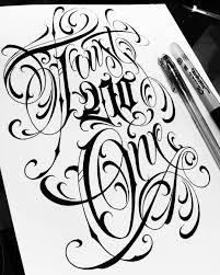 Lettering Letters Design Trust No One Lettering Script Letters Design Tattoo