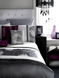 Enjoyable Bedroom Purple Black Grey White Silver Bedroom Decor Bedroom  Ideas Purple