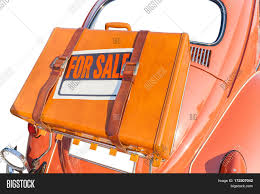Automobile For Sale Sign Sale Sign Stick On Image Photo Free Trial Bigstock