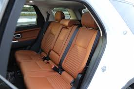 discovery sport leather seats discovery sport leather rear seats 5 2