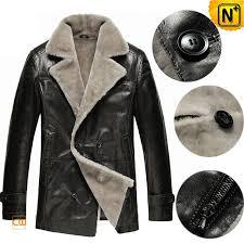 mens shearling coats cw878418 cwmalls com