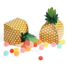 pineapple bo favor treat candy bo birthday sweets cake gift bag personality hawaiian wedding party beach table decor event in gift bags wrapping
