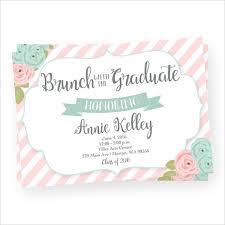 Graduation Lunch Invitation Wording 48 Graduation Invitation Templates Psd Ai Free Premium Templates