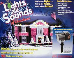 Musical Outdoor Christmas Lights Animated Indoor Outdoor Year Round Panoramic Motion