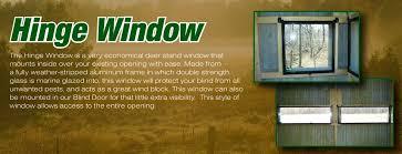 deerview windows deer stand windows deer blind windows hunting windows