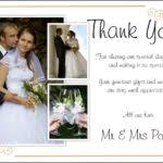 Wedding Thank You Samples Wedding Thank You Card Wording Examples Parents Wedding Gallery