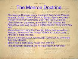 james monroe the fifth president of the united states ppt video  the monroe doctrine