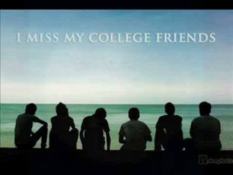 college friends status