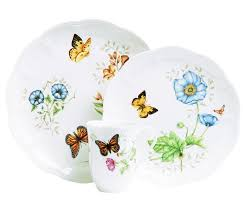 lenox butterfly meadow dinner plates. Brilliant Dinner Lennox Butterfly Meadow Lenox View Larger With Lenox Meadow Dinner Plates M