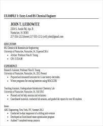 Driller Offsider Resume Samples Best of 24 Generic Engineering Resume Templates Free Premium Templates