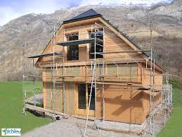 maison neuve chalet pyrénées en ossature bois picbleu