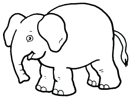 Animal Coloring Simple Animal Coloring Pages At Getdrawings Com Free For