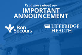Mercy Baltimore My Chart Important News About Bon Secours Baltimore Hospital