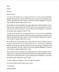 Sample Letter To Ask For Job Back Sample Job Proposal Letter 7 Examples In Pdf Word