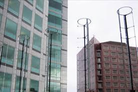 in 2009 adobe installed 20 windspire wind turbines at its san jose headquarters adobe offices san jose san