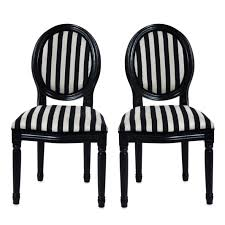 chairs upholstered plus black and white striped chair covers t m l f black and white striped furniture