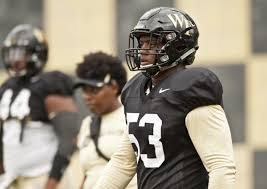 Wake Forest Football Depth Chart Breaking Down Wake Forests First Depth Chart Of The Season