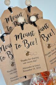 thank you tags for wedding favors meant to bee bridal shower favor tags rustic wedding favors kraft