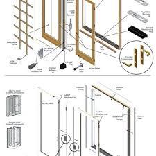 door parts diagram door frame diagram awesome french door parts diagram intended for door frame parts