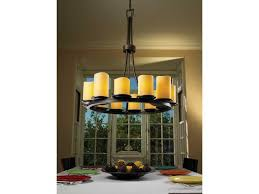 justice design group candlearia dakota faux candle resin 12 light ring chandelier