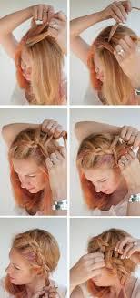 Frisuren Selber Machen Seitenzopf Selber Machen Flechtfrisuren Einfache Flechtfrisuren Mittellange Haare Oktoberfest