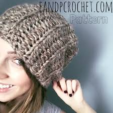 Bulky Yarn Crochet Hat Patterns Stunning Pattern The Basic Chunky Slouch Crochet Pinterest Super Bulky