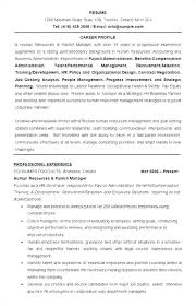 Examples Of Hr Resumes Download Hr Manager Resume Samples Examples Extraordinary Hr Generalist Resume