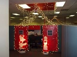 office cubicle christmas decorations. Delighful Decorations Office Christmas Decorating Contest Inspirational Cubicle Ideas Of On Decorations