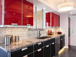 black and red kitchen design. best red and grey kitchen cabinets colors to paint a pictures amp ideas from hgtv black design
