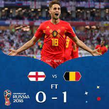 L'Angleterre 0-1 Belgique en vidéo complète Coupe du Monde Russie 2018