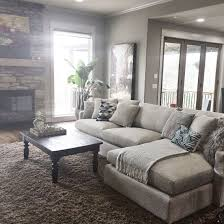 A relaxing living room, sofa from crate and barrel. - Home Decor Designs