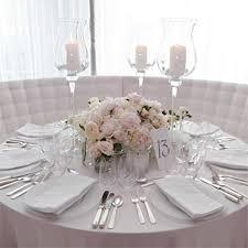 wedding round table centerpieces