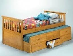 captains bed with trundle. Beautiful Captains Pine Captains 3ft Single Bed With Stowaway Guest Trundle Throughout Captains Bed With Trundle A