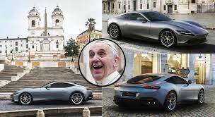 The New Ferrari Roma Will Absolutely Destroy The Aston Martin